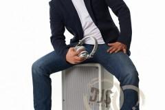 Bílé repro, sluchátka i boty :-)