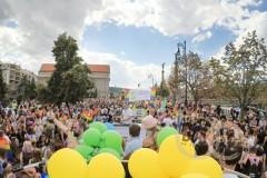 Druhá z Václaváku Prague pride