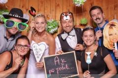 Svatební fotokoutek