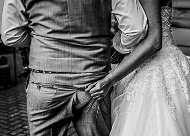 Svatební hra - Poznávání ženicha podle hýždí