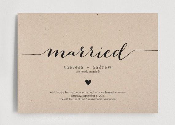 Pozvánka na svatbu a svatební oznámení