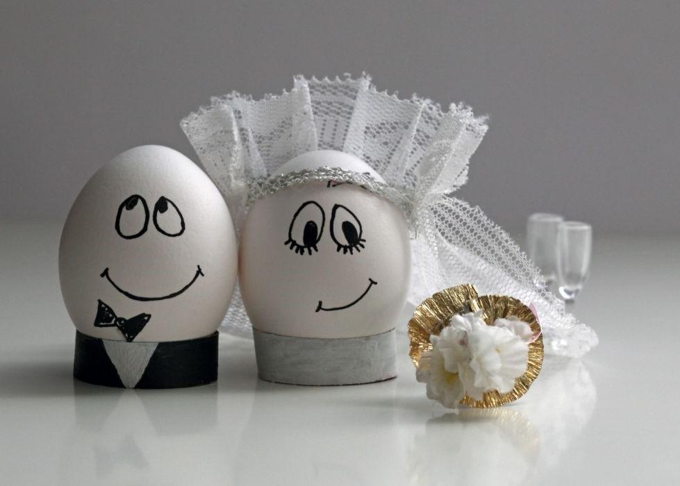 cesta vajíčka